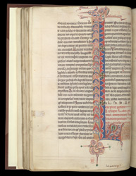 Decorated Initial, In A Volume Of Works By, Or Attributed To, St. Jerome f.33v